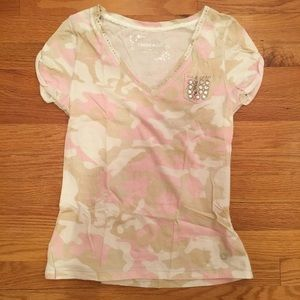 Limited Too Justice Girls Camo Tee